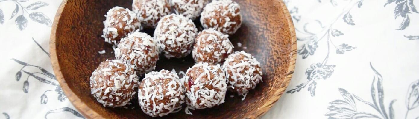 vegan snack balls