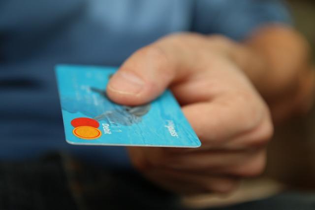 giving debit card