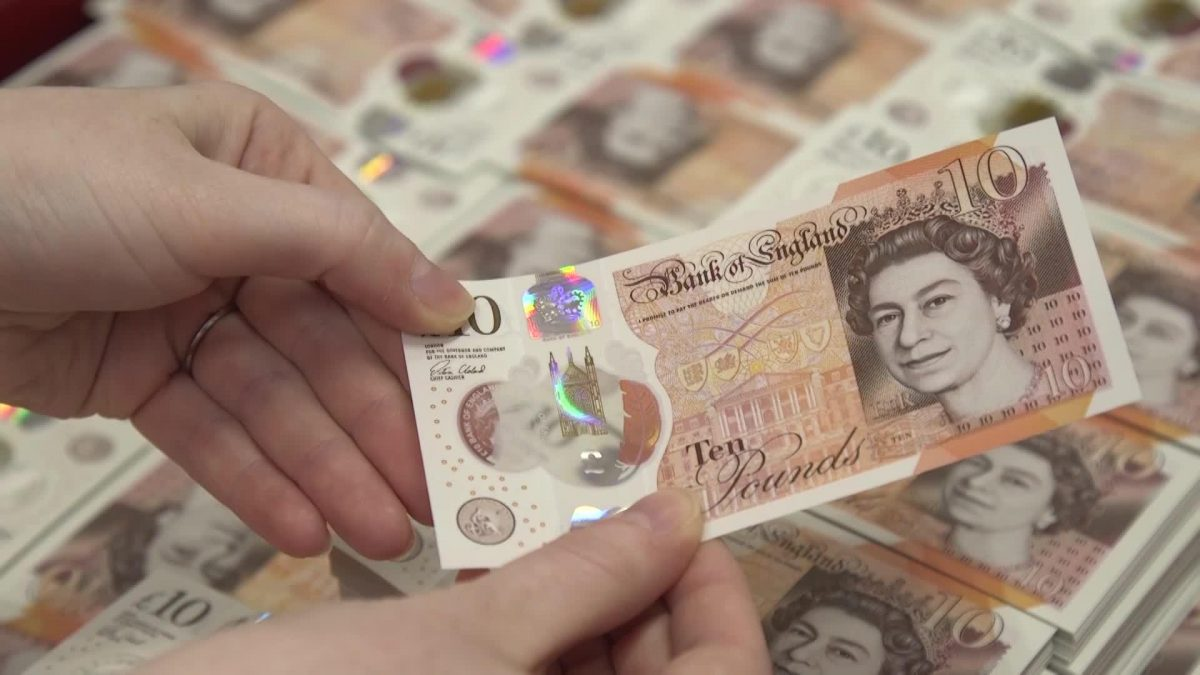 new ten pound notes