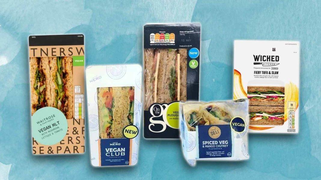 The UK's Top 10 Tastiest Vegan Sandwiches