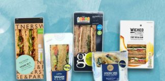 The UK's Top 10 Tastiest Vegan Sandwiches