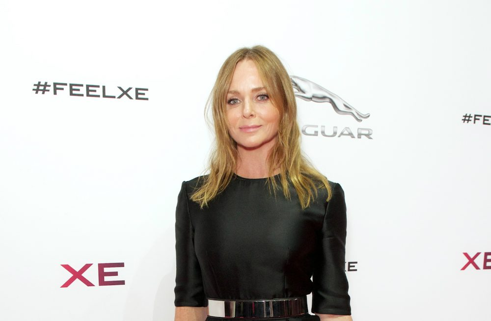 Vegan Designer Stella McCartney Attends Ethical Fashion Event at Buckingham Palace