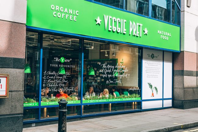 Veggie Pret A Manger Expands to Asia Amid Hong Kong's Demand for More Plant Based Food
