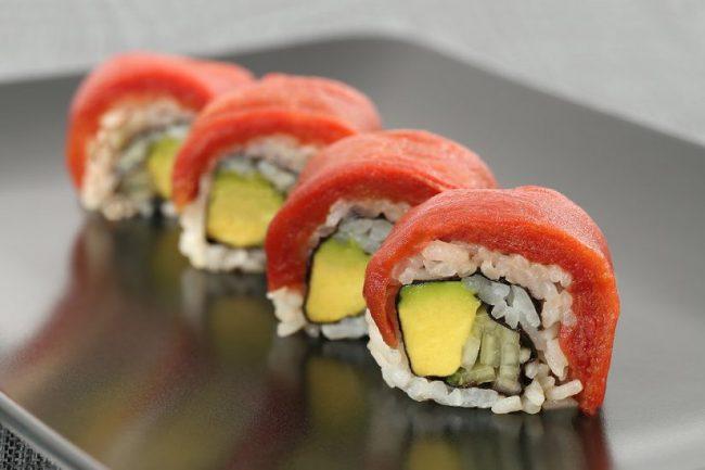 Vegan Tuna Rolls