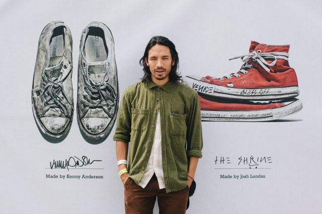 Pro Skater Kenny Anderson Launches New Vegan Converse Line