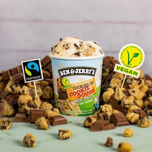 Ben & Jerry's Brings Dairy-Free Cookie Dough Ice Cream to the UK