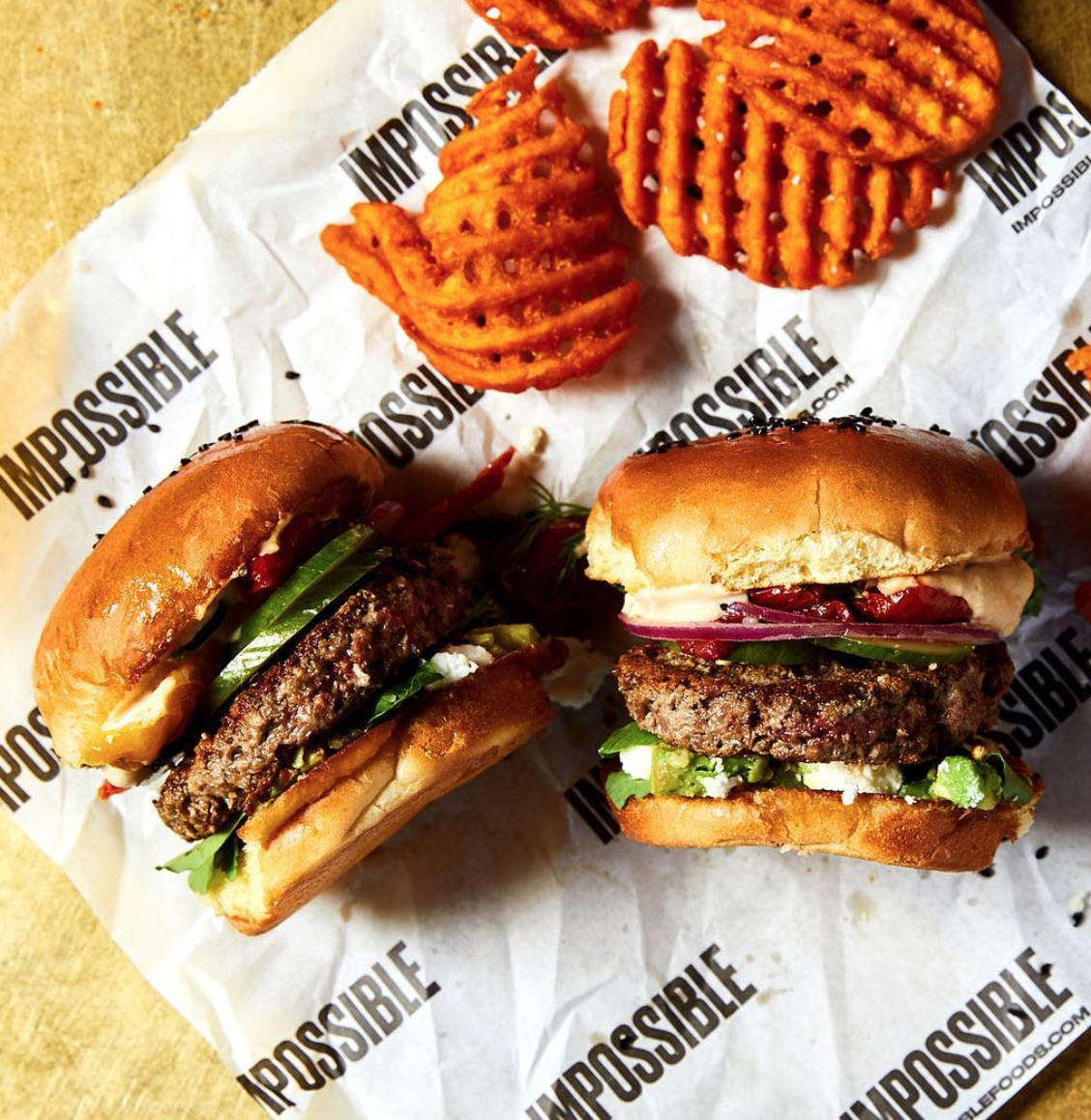 Vegan Burger Brand Impossible Foods Launches New Food Bank Program