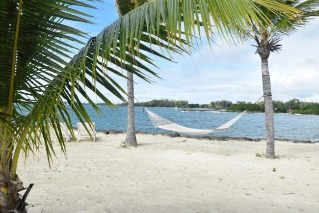 beach sand hammock