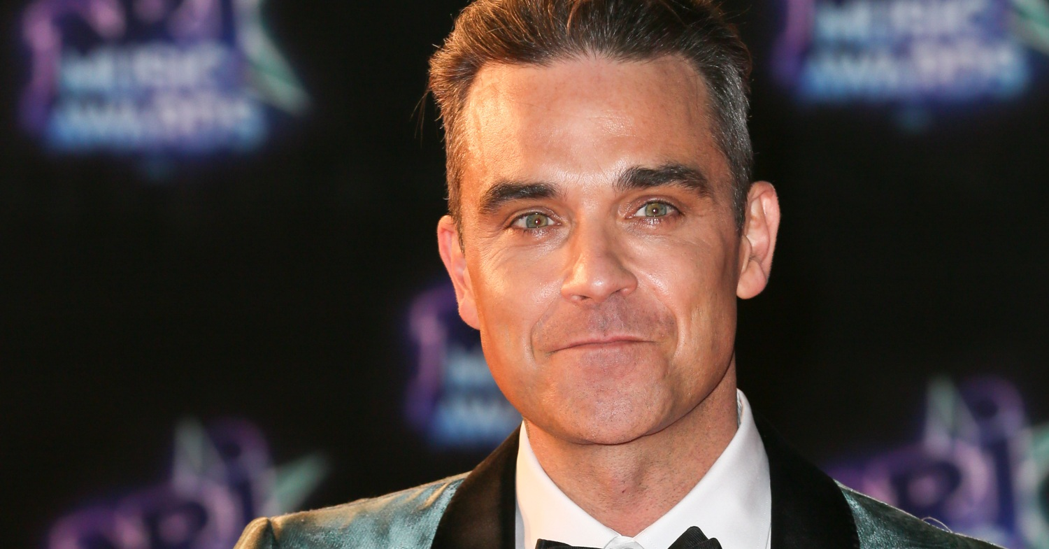 Robbie Williams at the NRJ Music Awards