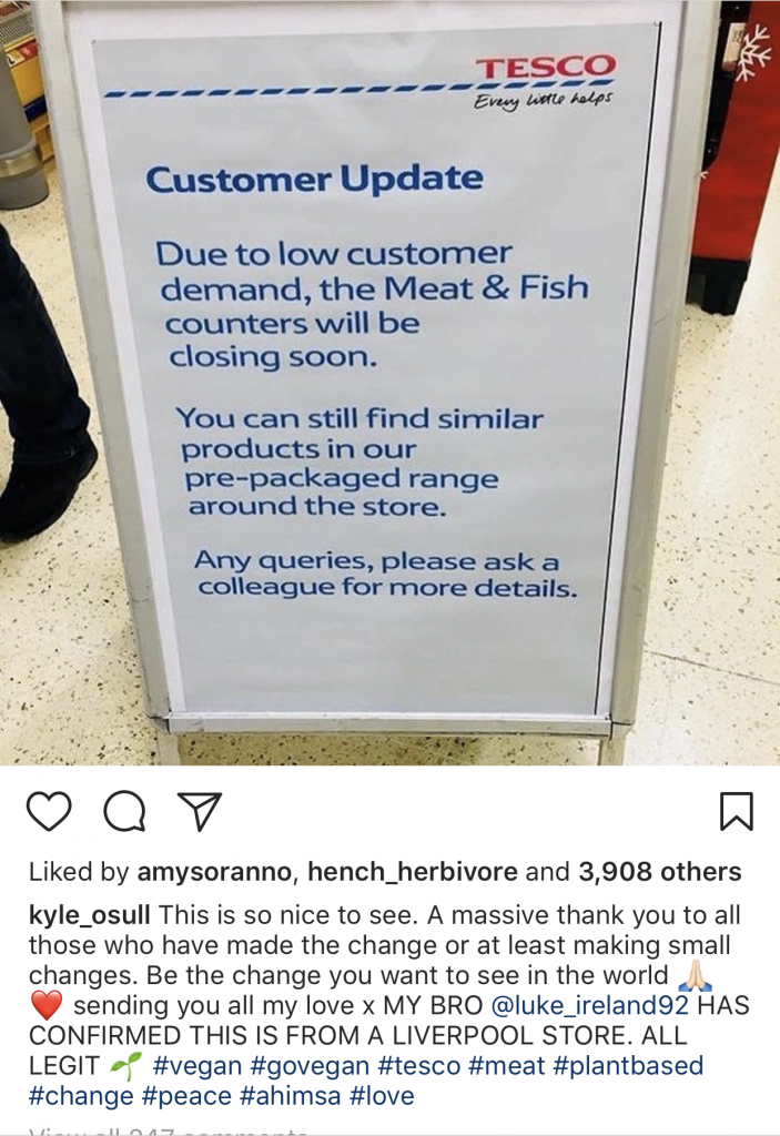 Tesco Shutters 6 Meat & Seafood Counters