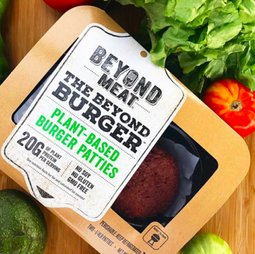 The Vegan Beyond Meat Burger is Heading to the Meat Alternative Capital of the World