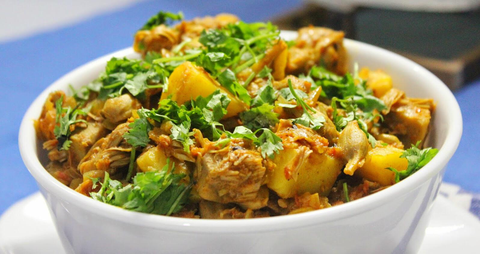 trader joe's launches vegan yellow jackfruit curry ready meal