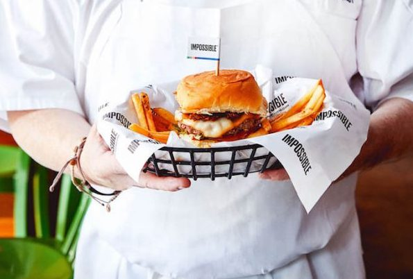 Vegan Impossible Burger Now Available at Wahlburgers