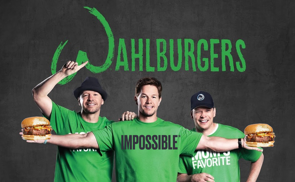 Mark Wahlberg's Burger Chain Introduces Vegan Impossible Burger