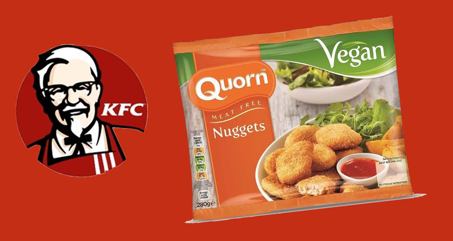 Quorn Offers Vegan Nuggets to KFC