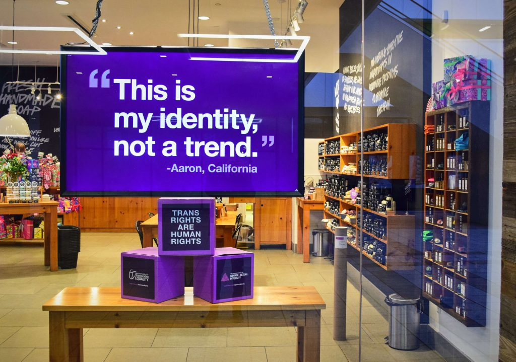 Vegan-Friendly Body Care Company Lush Celebrates Trans Rights With New Campaign
