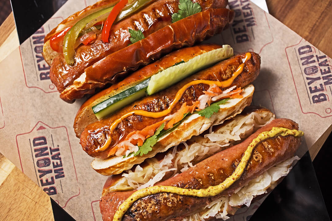 Vegan Beyond Sausages Arrive at All Veggie Grill Locations