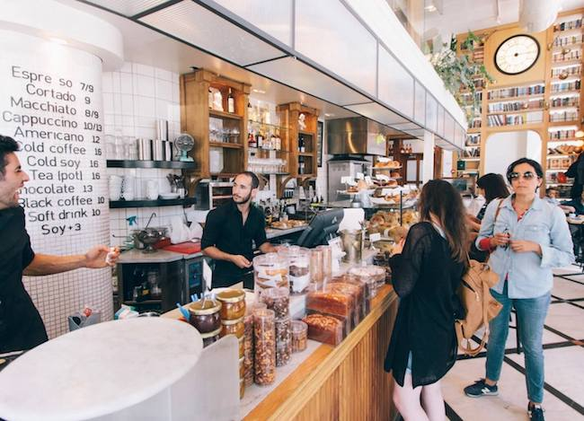 Israel Coffee Shop