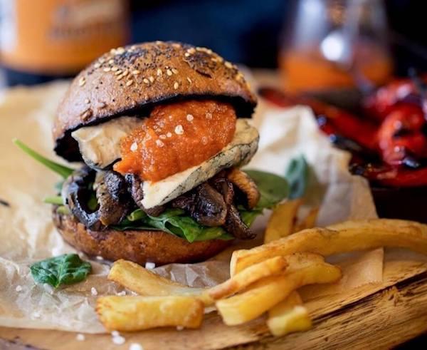 Vegan Allotment Burger