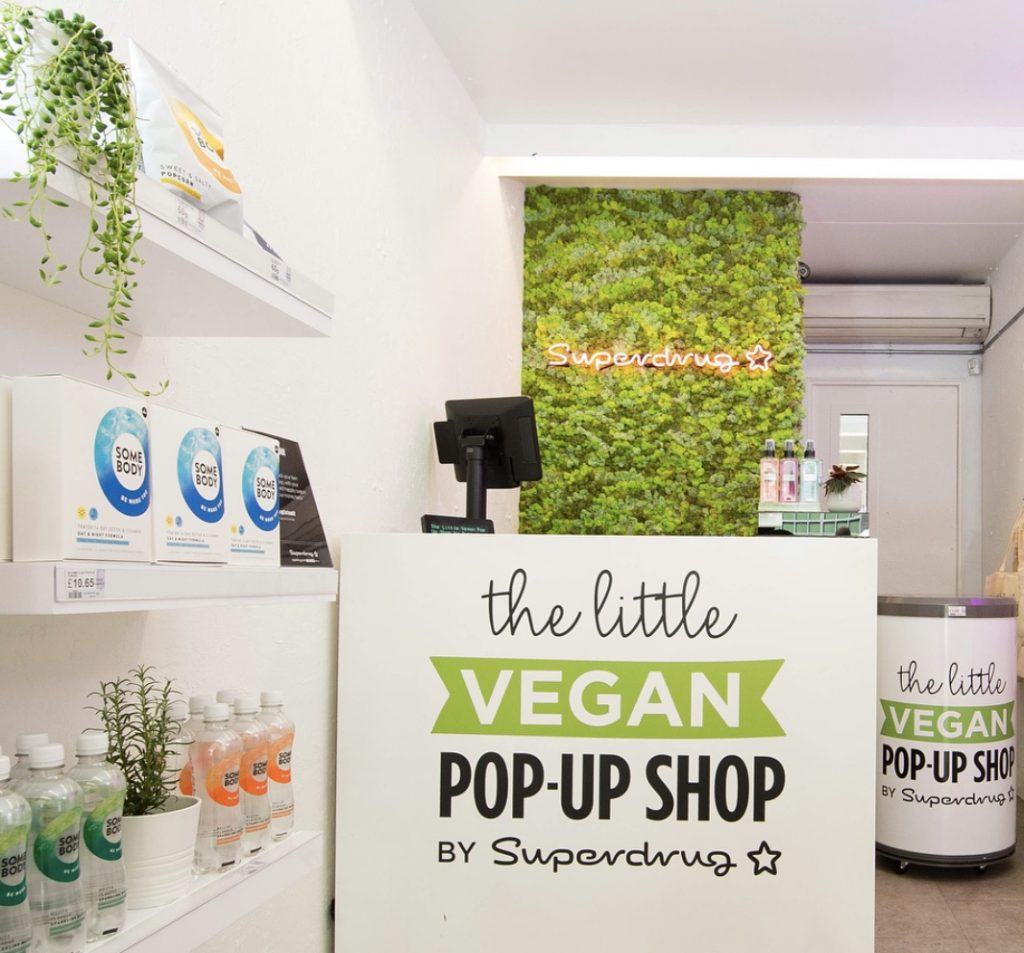 Vegan Pop Up Superdrug