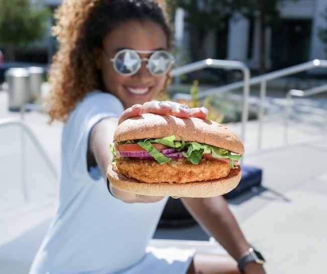 Veggie Chick Sandwich