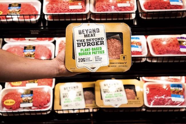 beyond meat target