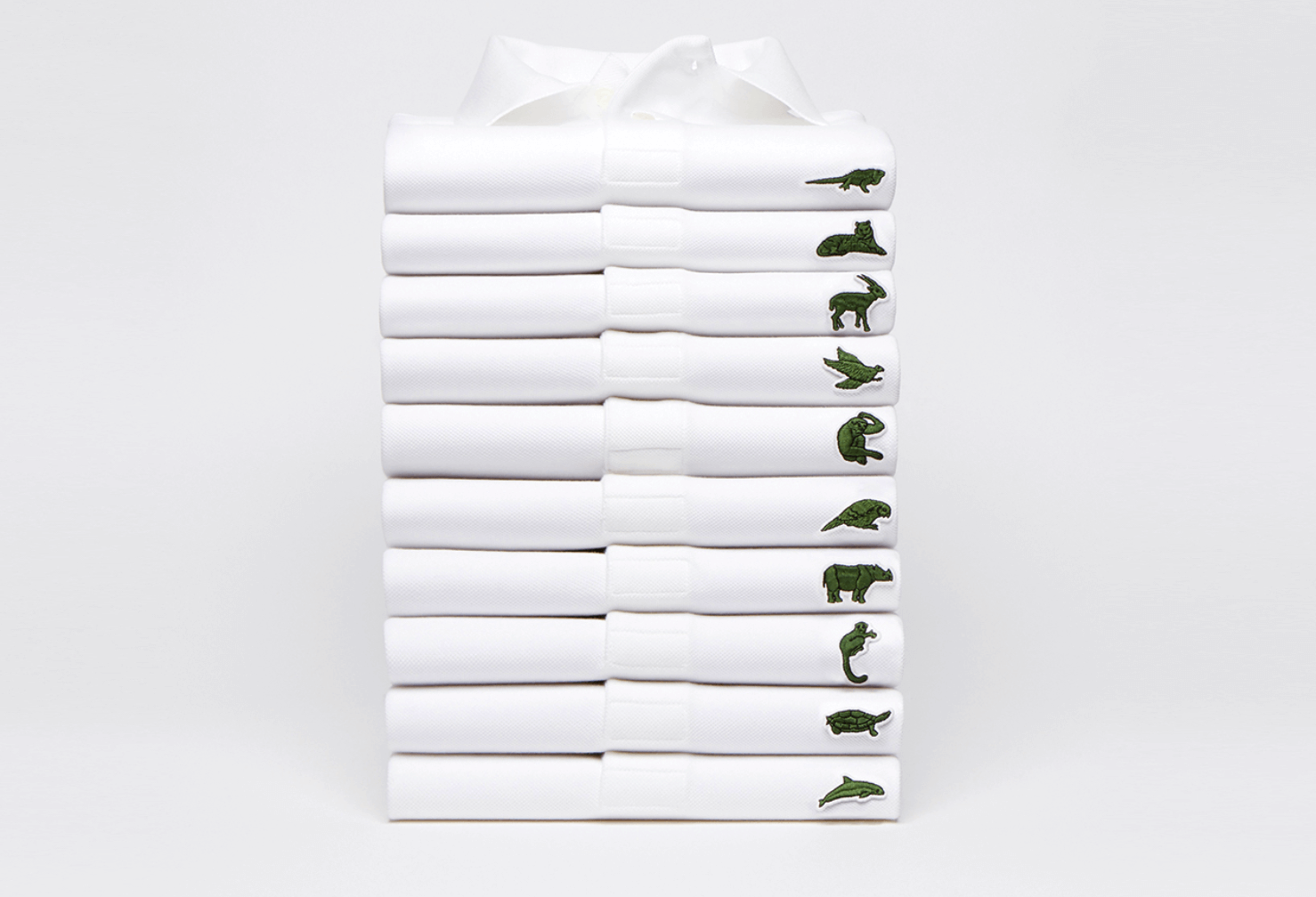 Iconic Fashion Brand Lacoste Highlights Endangered Species in Limited-Edition Line