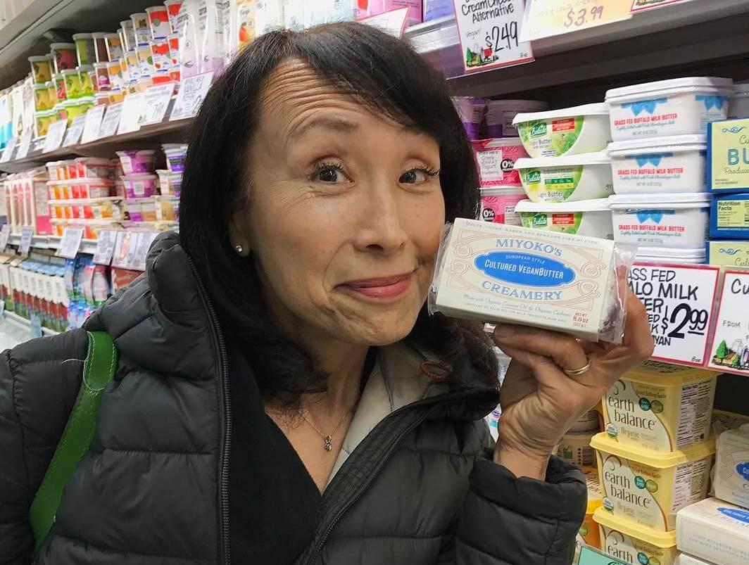 Founder of Vegan Cheese Brand Miyoko's Kitchen Gets Vegan Tattoo Live on Facebook