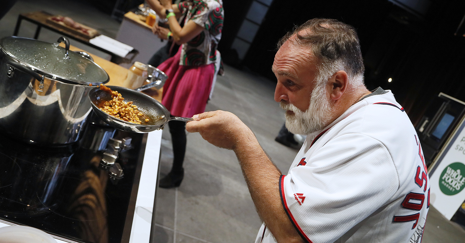 Celebrity Chef Jose Andres Says the Future of Food is Plant-Based