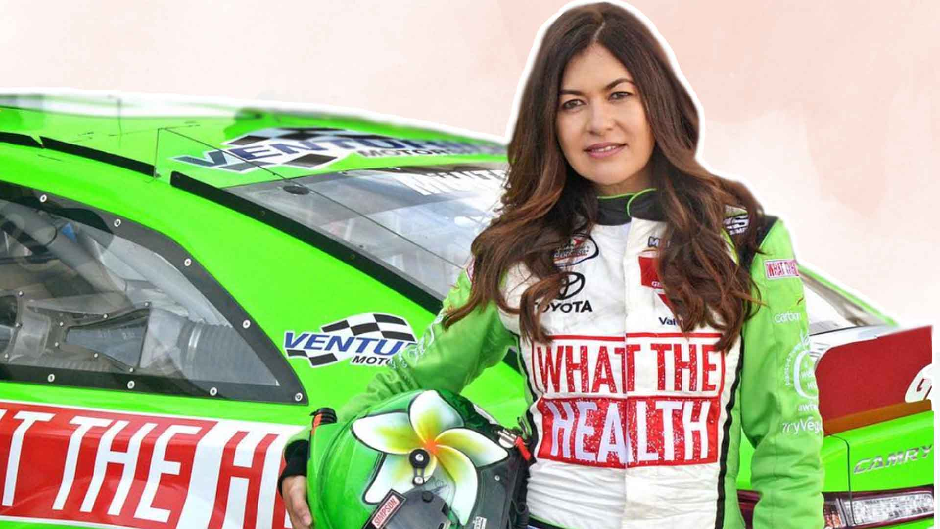 This Race Car Driver Is VEGAN AF
