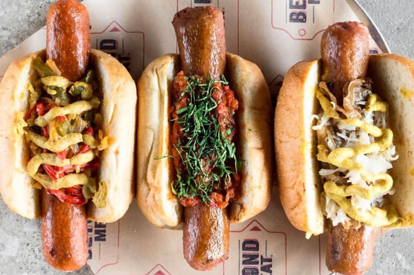 Vegan Sausages Launch at Lord of the Fries in Australia