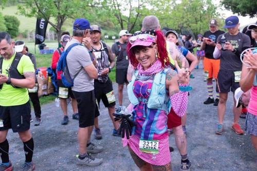Vegan Ultramarathon Runner Covers 192 Miles in 72 Hours, Takes 1st Place for Female Runners