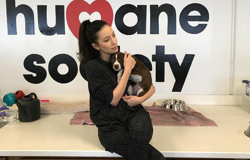Vegan The Walking Dead Star Befriends Rescued Animals At A