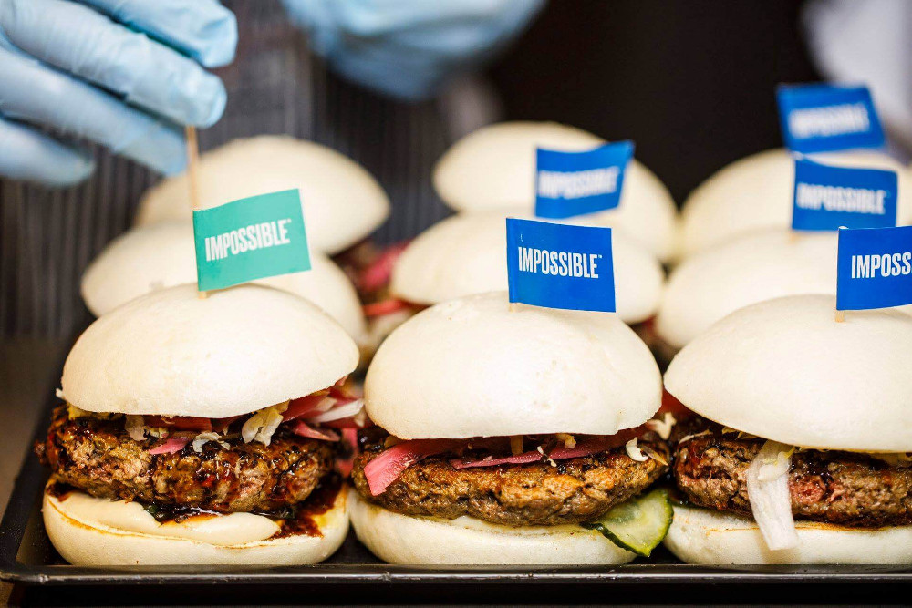 Hong Kong Chef Says Vegan Impossible Burger Is 'Not a Replacement — It's Just Another Meat'
