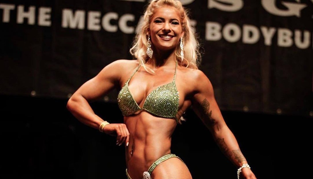 23-Year-Old Dutch Vegan Bodybuilder Looks to Win Dutch Championships