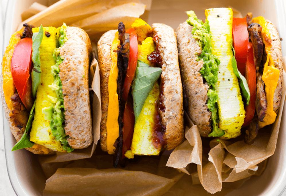 7 Vegan Breakfast Sandwich Recipes