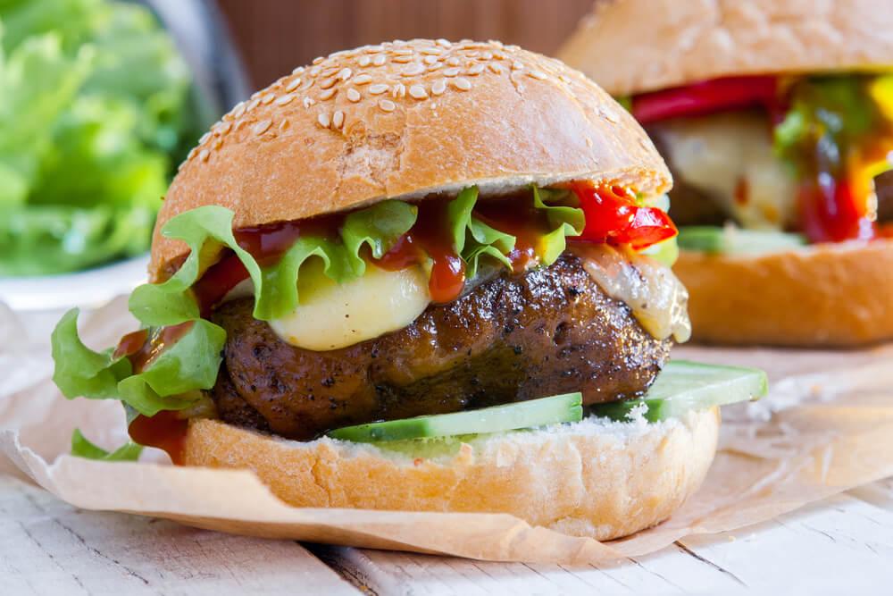 Vegan 'Hail-Seitan' Burger Debuts at Meat-Heavy Burger Bar