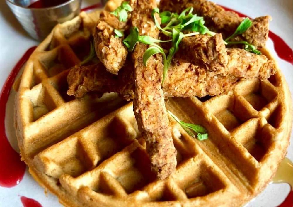 Chicken and Waffles Gardein