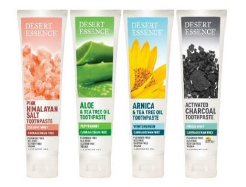 TITLE PEND Desert Essence Debuts New Vegan and Carrageenan-Free Toothpaste