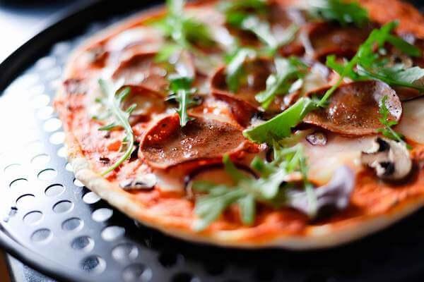 Vegan Meat Pizza