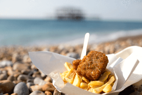 Flaming Grill Pubs Now Offer Vegan Fish and Chips From Plant-Based Brand VBites