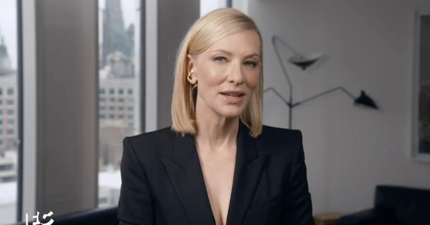 Cate Blanchett Feeds Jimmy Fallon 'the Best Goddamn Burger You Will Have in Your Life' – and It's Vegetarian!
