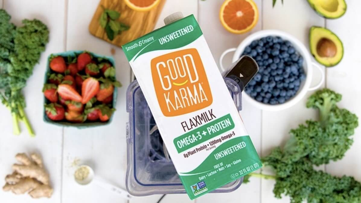 Good Karma Flax Milk Cropped