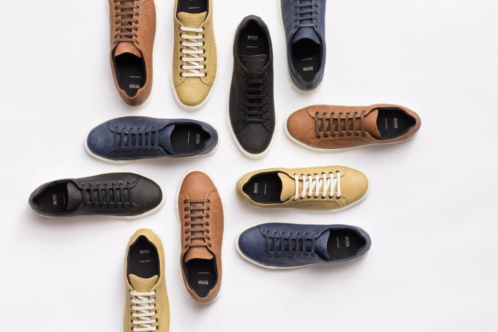Hugo Boss Launches Vegan Pineapple Leather Men's Shoes Range