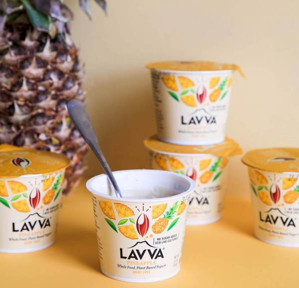 Lavva vegan yogurt pineapple