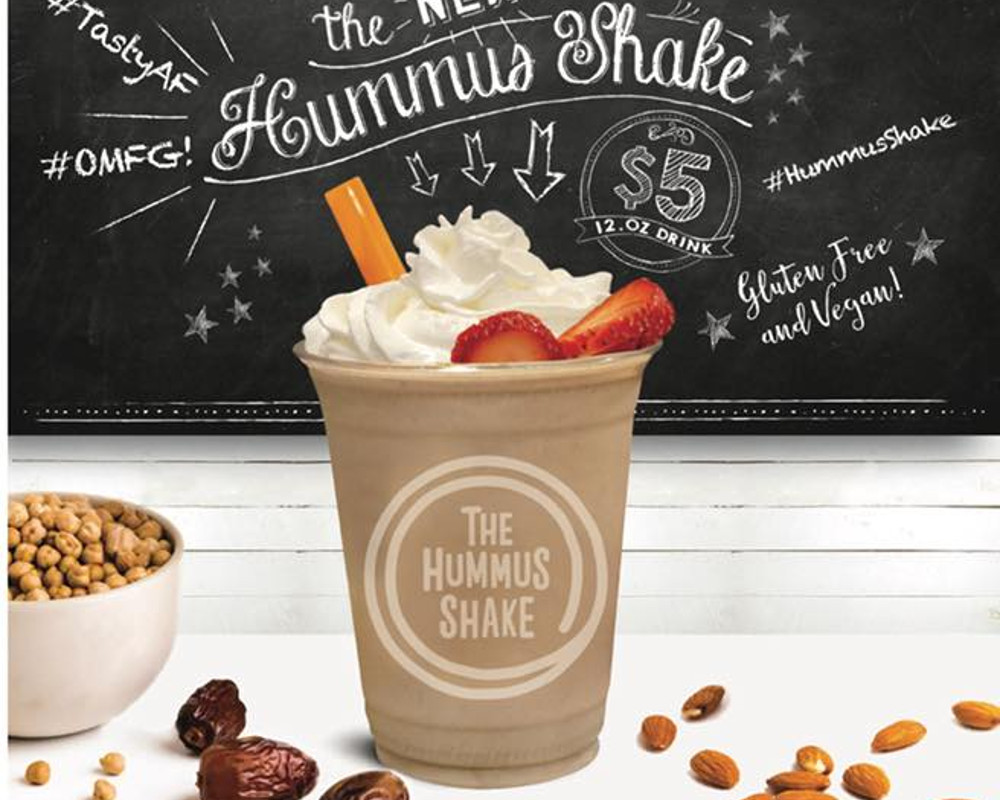 NYC Falafel Chain Hummus & Pita Co.'s New Vegan Milkshake is Made With Hummus