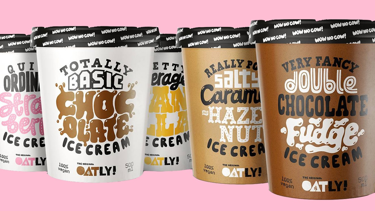 Dairy-Free Brand Oatly's Vegan Oat Milk Ice Cream to Launch in 5 Flavors