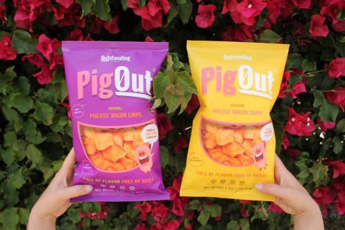 Vegan Celebrity Steve-O 'Pigs Out' on Vegan Bacon Chips