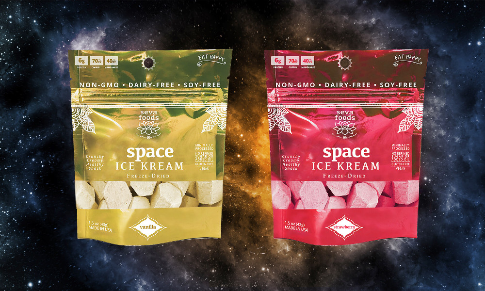 World's First Plant-Based Freeze-Dried Ice Cream Lets Astronauts Eat Vegan Ice Cream in SpaceWorld's First Plant-Based Freeze-Dried Ice Cream Lets Astronauts Eat Vegan Ice Cream in Space