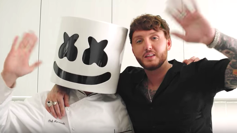 James Arthur Prepares Vegan Fish and Chips on 'Cooking With Marshmello'